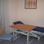 Therapieraum vorwiegend zur Behandlung neurologischer und orthopädischer Patienten